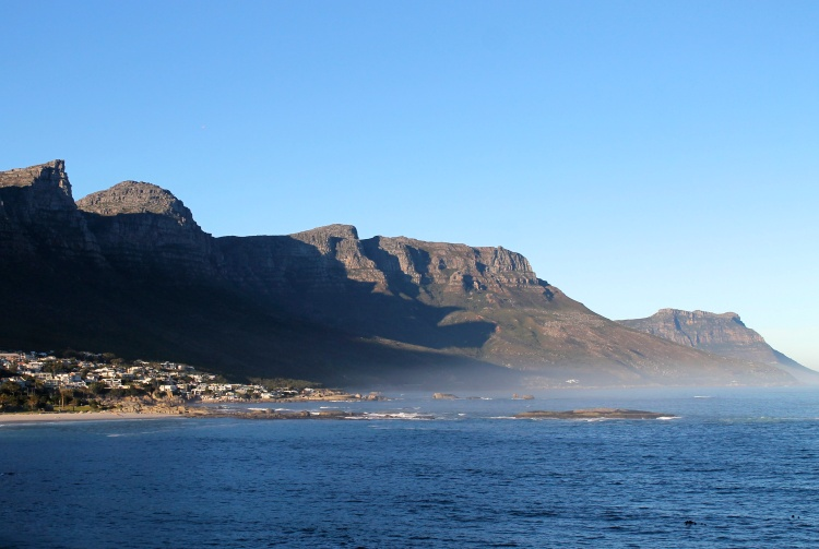 The Twelve Apostles overlooking Cape Town