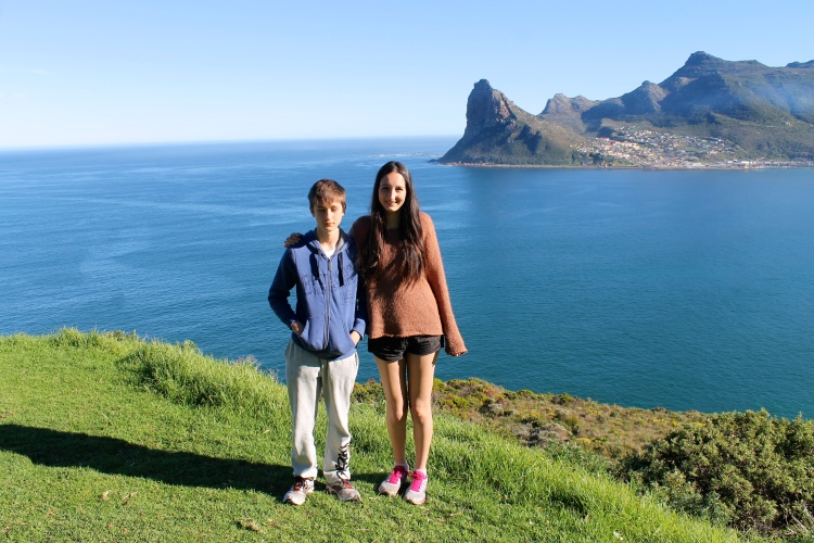 Hout Bay and my reluctant brother