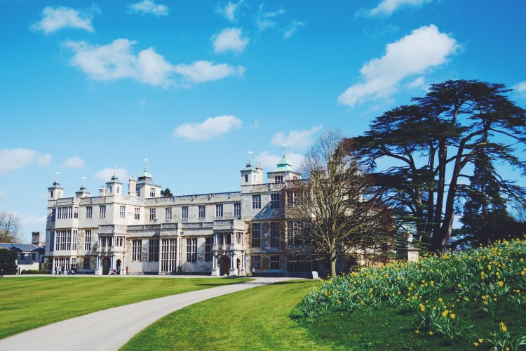 Audley End House and Gardens, Essex.