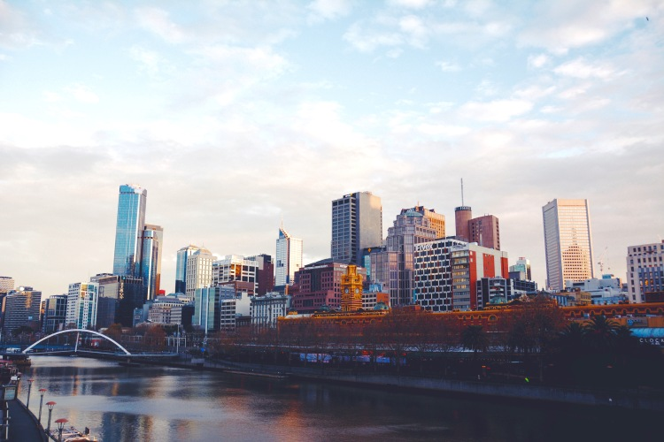 The Yarra River.