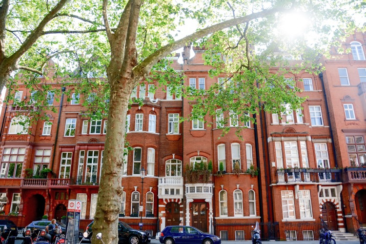 The streets around Sloane Square.