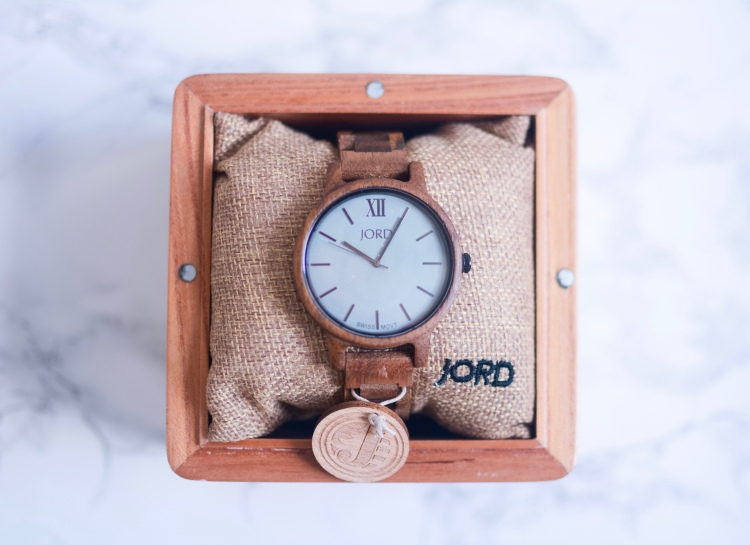 JORD Wood Watch - Frankie Koa & Ash